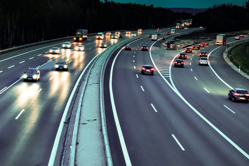 Tráfico autopista