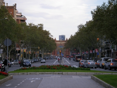 Trafico Barcelona