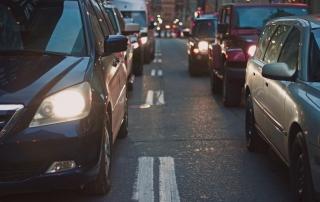 Tráfico coches